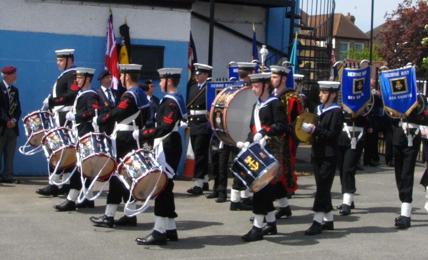 HMS Hood Parade 2013 14 (2)