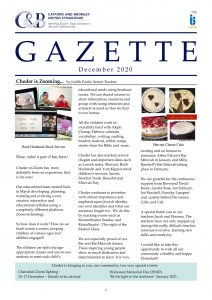 Catford and Bromley Synagogue Gazette December 2020